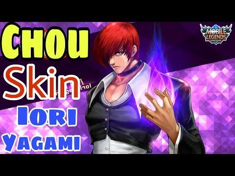 Mobile legends: CHOU - IORI YIGAMI, siêu phẩm The King Of Fighters, skin mắc nhất game có đẹp ko ? thumbnail