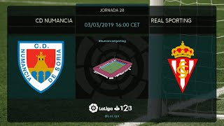 CD Numancia - Real Sporting MD28 D1600