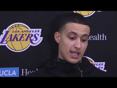 Kyle Kuzma On Being Named Western Conference Rookie Of The Month | Back Injury & More