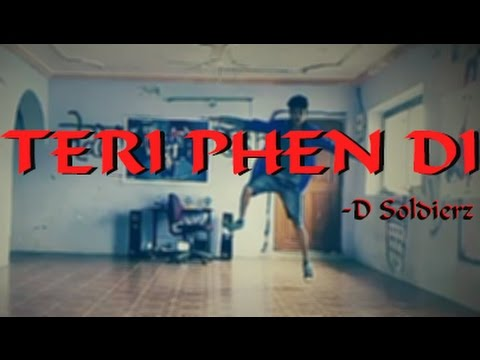 teri phen di | D Soldierz | house hiphop| dance