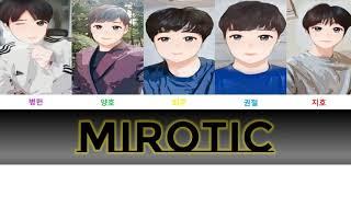TVXQ! - MIROTIC, 동방신기 - 주문 . cover