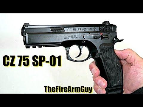 CZ 75 SP-01 Review - TheFireArmGuy