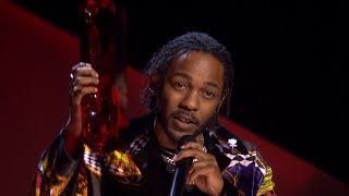 Kendrick Lamar wins International Male Solo Artist | The BRIT Awards 2018