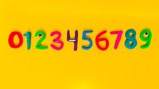 Учим цифры и количество с детьми/Лепим из пластилина