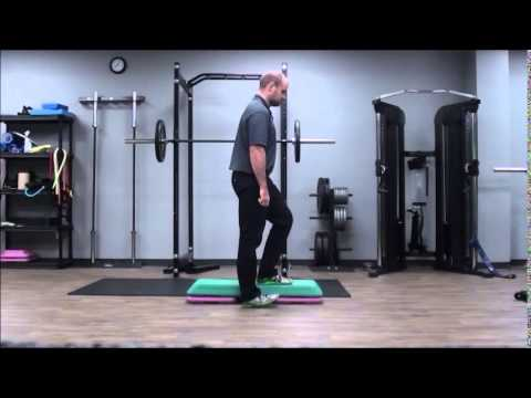 Lateral Step up - YouTube