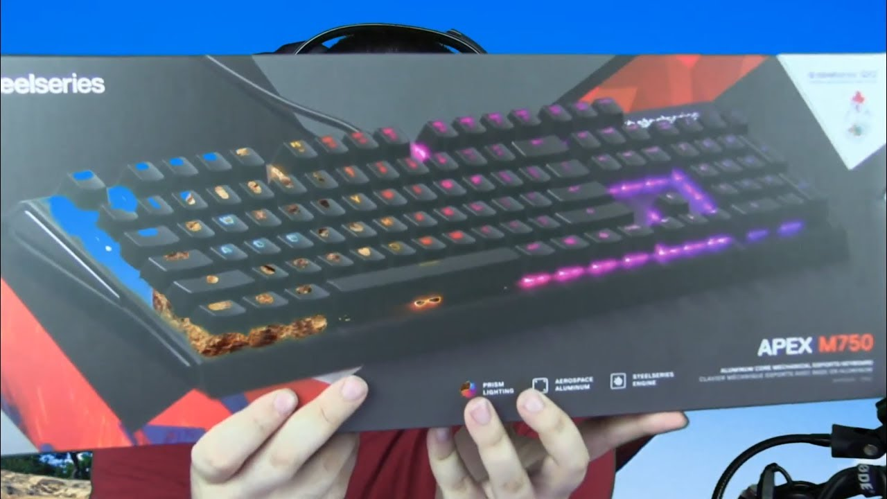 1b7b26d2d3a Steelseries Apex M750 Keyboard Overview, Preview & Thoughts - YouTube