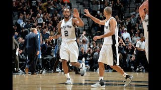 San Antonio Spurs' Top 25 Plays of the 2016-2017 NBA Season