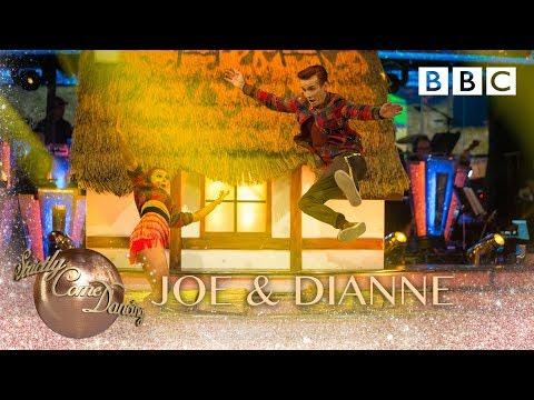 Joe Sugg & Dianne Buswell Charleston to 'Cotton Eyed Joe' by Rednex - BBC Strictly 2018