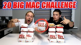 MCDONALD'S 20 BIG MAC CHALLENGE NA CZAS