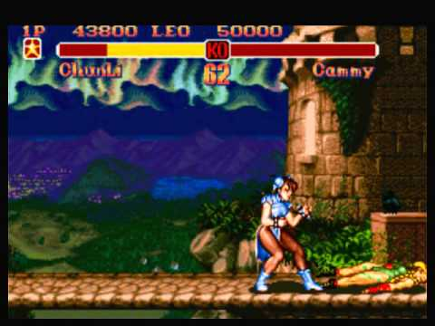 Snes Longplay Super Street Fighter 2 Chun Li