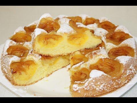 Абрикосовый пирог,нежнейший и очень вкусный!