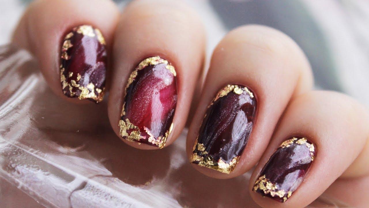 diy holiday nail art 2018 easy