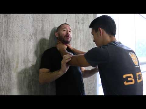 How To Defend An Aggressive Choke In Krav Maga And MMA