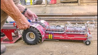 Unbelievable RC Tractor Pulling! Nitro! Electric! Power!