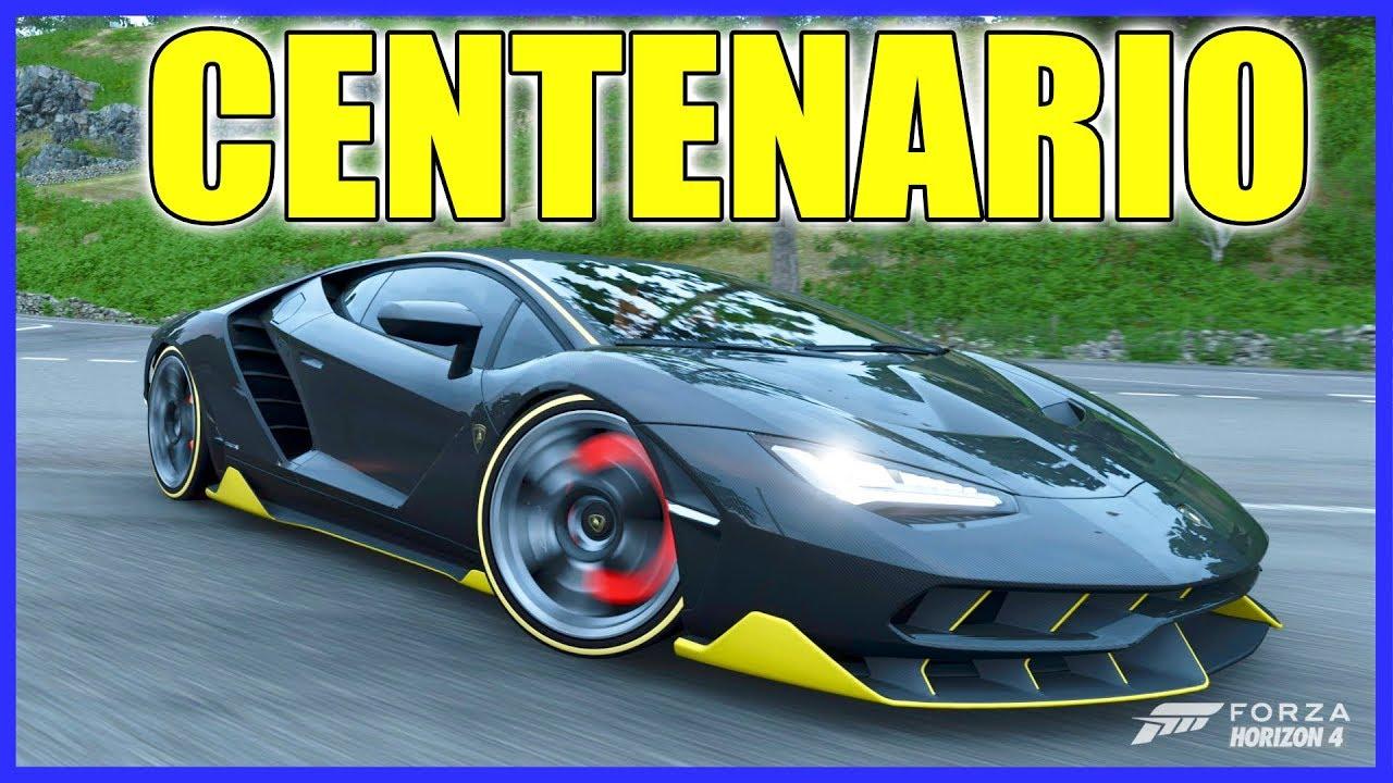 Forza Horizon 4 Lamborghini Centenario Gameplay Youtube