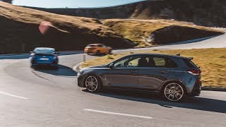 REVRATS test Megane RS vs. i30N Performance vs. Civic Type-R