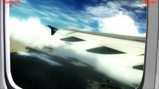 Amasing FSX Movie & overclocked to 5ghz, Airbus X A320 flight from Skiathos to Weeze