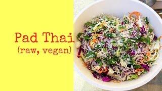 Delicious Pad Thai (raw, Vegan)