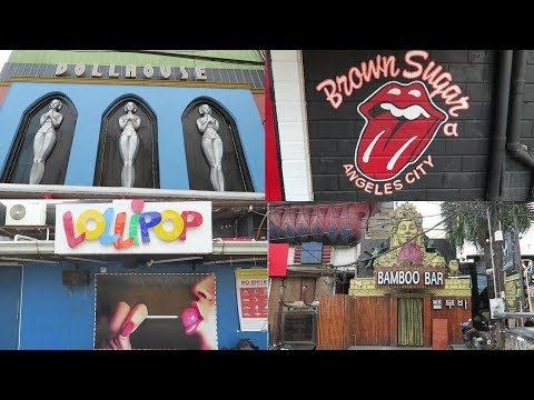 Walking Street & Fields Ave - Amazing Sights & Sounds : Angeles City Philippines