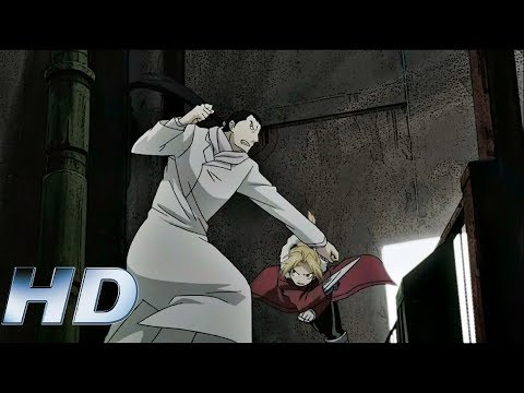 Edward vs Kimblee (Eng Dub) - Fullmetal Alchemist Brotherhood