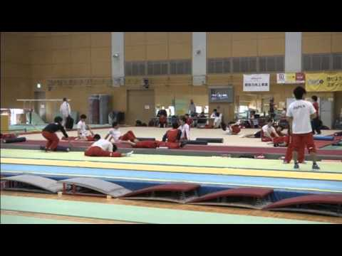 Japan's gymnastics stars aim for an Olympic team gold 02 March 2016