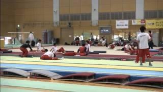 Japan's gymnastics stars aim for an Olympic team gold 02 March 2016