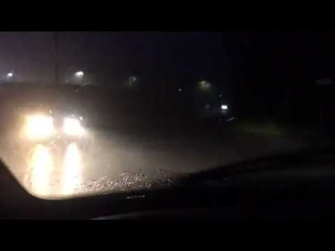 Driving In Severe Thunderstorm In Fayette County, Georgia Part 2