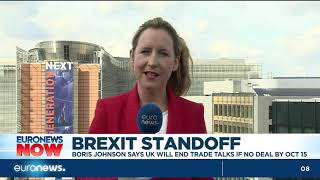 Brexit standoff: Boris Johnson says UK will end trade talks if no deal by Oct 15