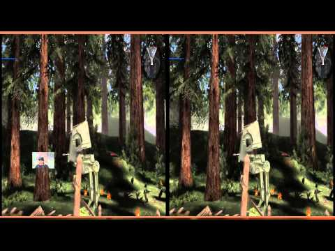 Star Wars Battlefront II VR Oculus Rift DK2 Zeiss Head Tracking 2:Ewok hunting & other quandaries