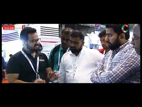 Live Product Demonstration BOMBAY MACHINERY at Clean India Technology Week 2018