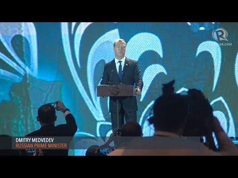 ASEAN BIS 2017: Dmitry Medvedev delivers keynote address