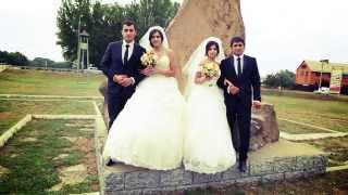 свадебный клип 24 августа 2013 г. Армавир. Свадьба Арсена и Дианы. Багаутдина и Тамары