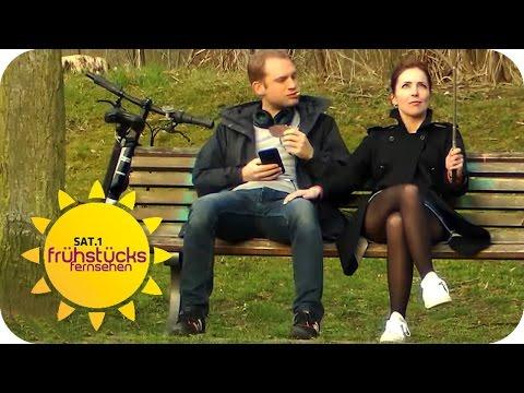 Nicht lang schnacken, ZUPACKEN!: Anflirten extrem | SAT.1 Frühstücksfernsehen | TV