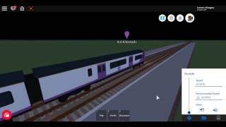 Roblox New Mind The Gap Class 321 (Demonstrator) MTG REGIONAL Isembard Central to Airport