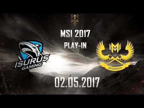 [02.05.2017] ISG vs GAM [MSI 2017][Play-in]