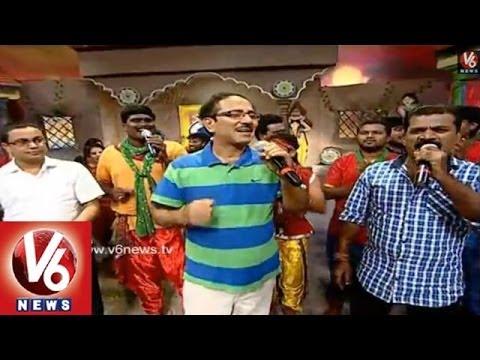Telangana Special Folk Songs || Folk Star Dhoom Thadaka - 13 || V6 News