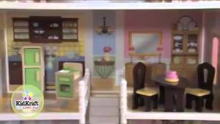 Kidkraft Savannah Dollhouse 65023 For Barbie Size Dolls