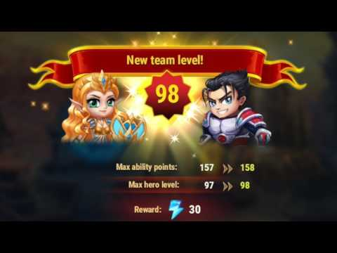 REACHED LEVEL 98 | HERO WARS