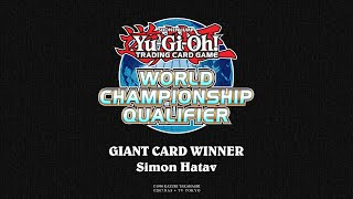2018 WCQ: European Championship - Giant Card Winner - Simon Hatav thumbnail