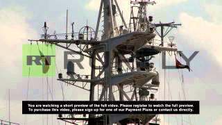 Cuba: Russian intelligence ship docks in Havana