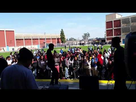 Black history rap at bethune middle school