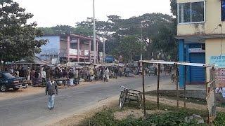 Notun Bridge & Bazar নতুন ব্রিজ এবং বাজার