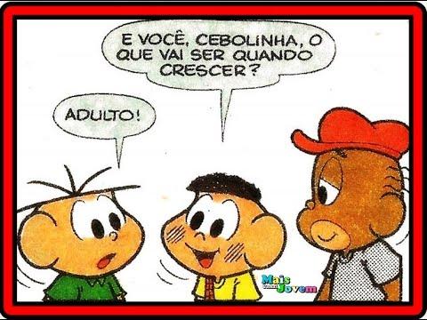 Download Cebolinha em Ser o que – Turma da Mônica