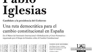 Una ruta democrática para el cambio constitucional en España