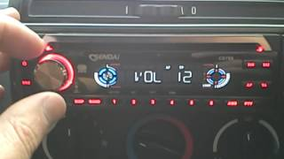 Sendai CD789 CD MP3 car stereo