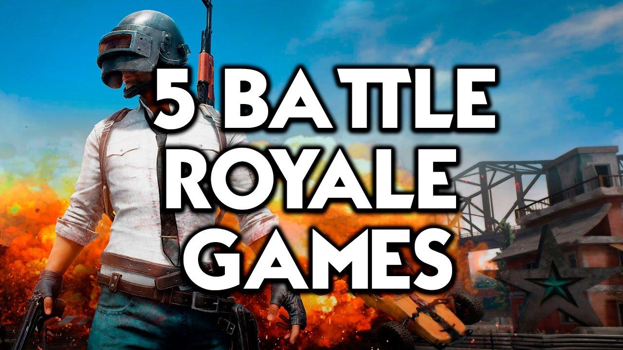 5 Battle Royale Games Like Pubg Youtube