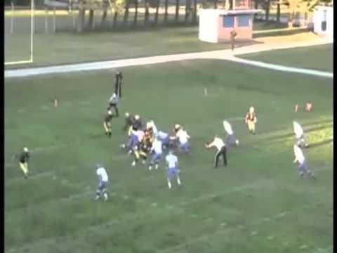 Alek Swiercz #87 Midland High MI 2010 Football Season