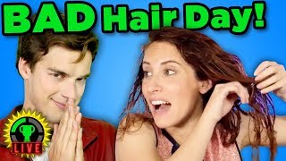 I RUIN Her Hair! | Nailed It or Failed It Hair Challenge