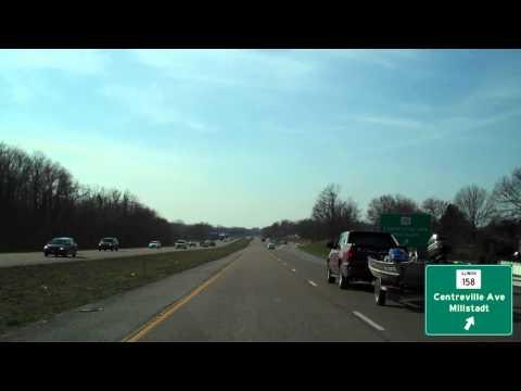 Illinois Route 15 - Freeburg, IL to St. Louis, MO Tour
