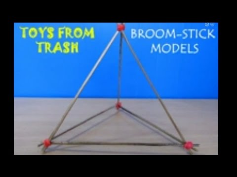 BROOMSTICK MODELS - TAMIL - Low-cost Platonic Structures!